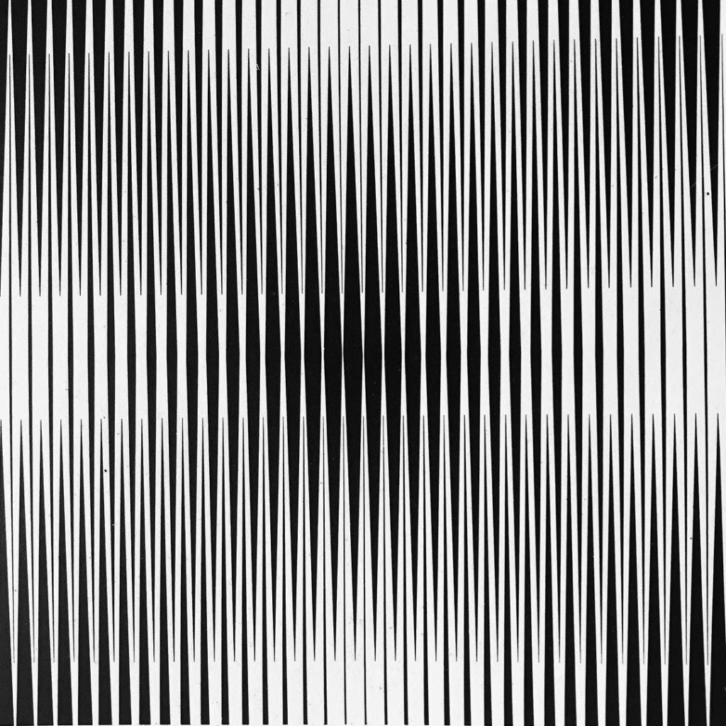 Franco Grignani, Vibrating interference, 1963