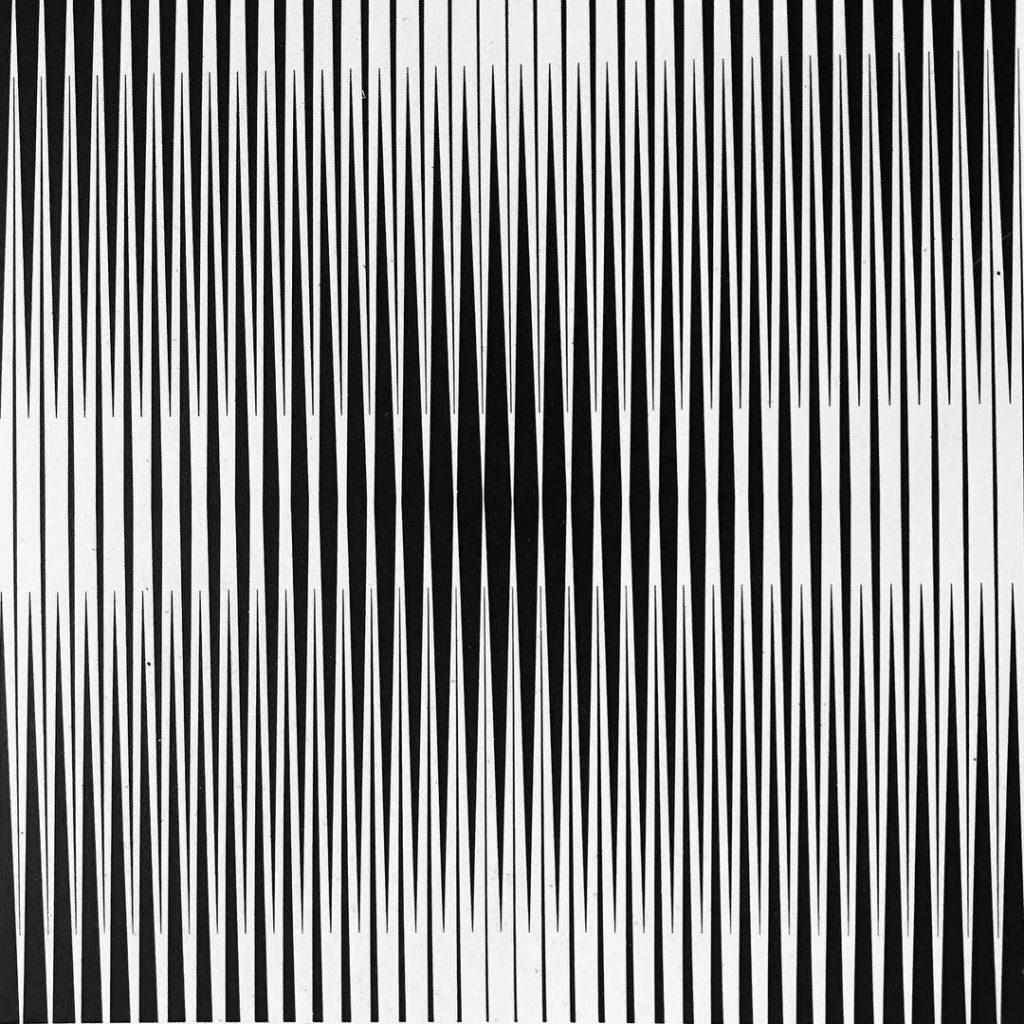 Franco Grignani, Vibrating interference, 1963