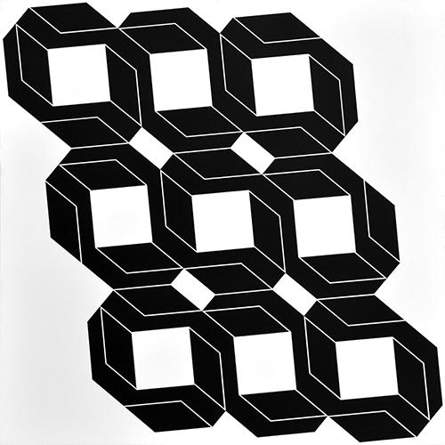 Franco Grignani, Psicostruttura modulare, 1968
