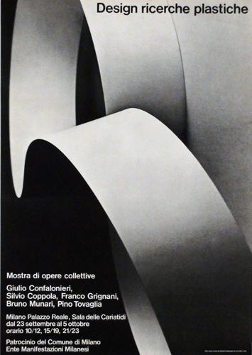 Franco Grignani & ED group, Design ricerche plastiche, Milano, 1969