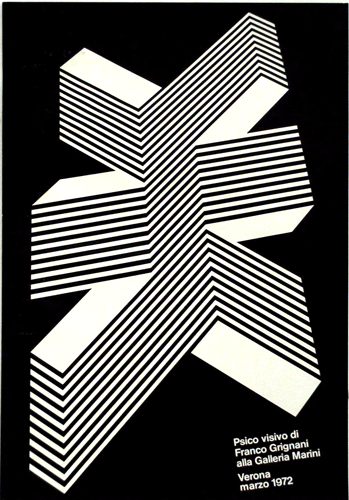 Franco Grignani, Psico visivo, Milano, 1972