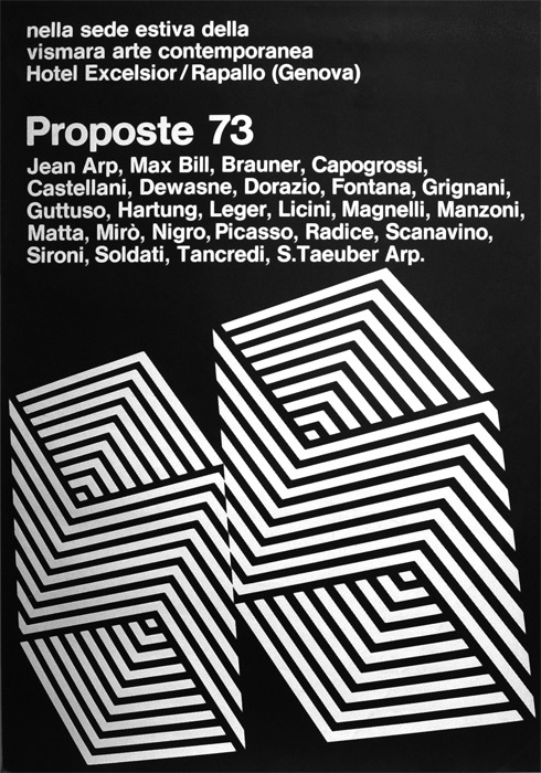 Proposte 73, Genova, 1973