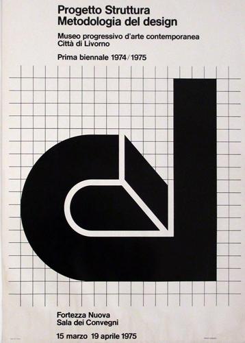 Franco Grignani & ED group, Progetto Struttura Metodologia del design, Livorno, 1975