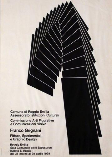 Franco Grignani - Pitture, Sperimenti e Graphic Design, Reggio Emilia, 1979