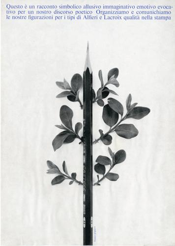 Franco Grignani, Ad for Alfieri & Lacroix, 1964