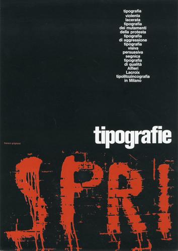 Franco Grignani, Ad for Alfieri & Lacroix, 1969