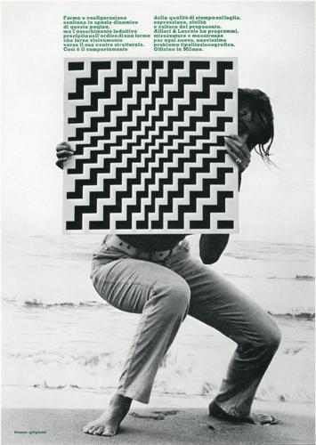 Franco Grignani, Ad for Alfieri & Lacroix, 1970