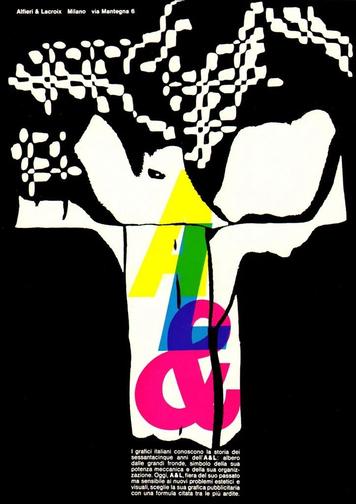 Franco Grignani, Ad for Alfieri & Lacroix, 1961