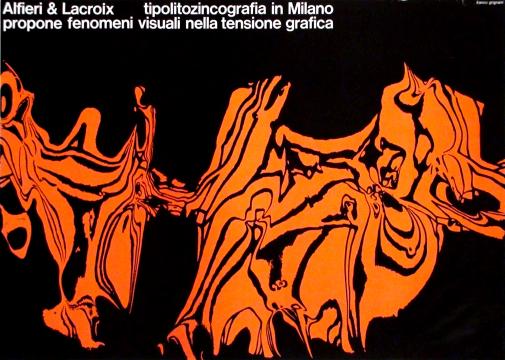 Franco Grignani, Ad for Alfieri & Lacroix, 1965