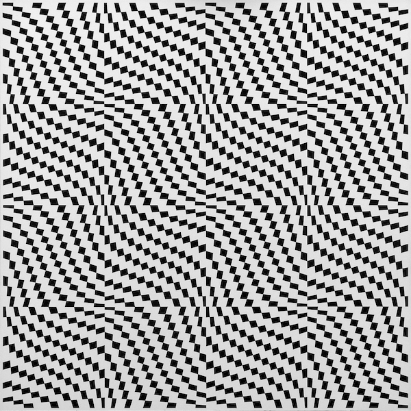 Franco Grignani, Phenomenic field with coupling of two mathematical plots, 1962