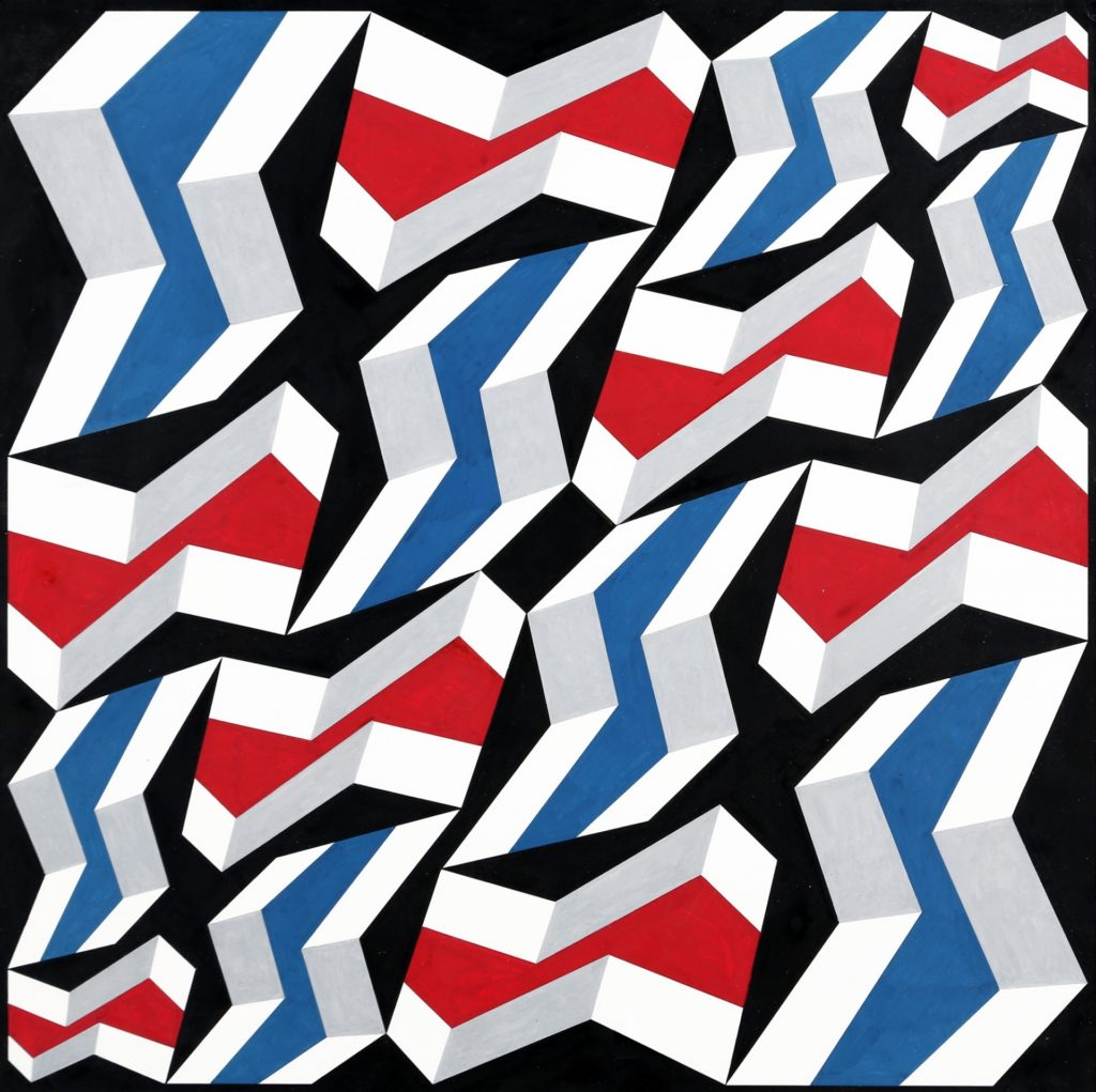 Franco Grignani, Compendium of sixteen plastic distortions, 1988