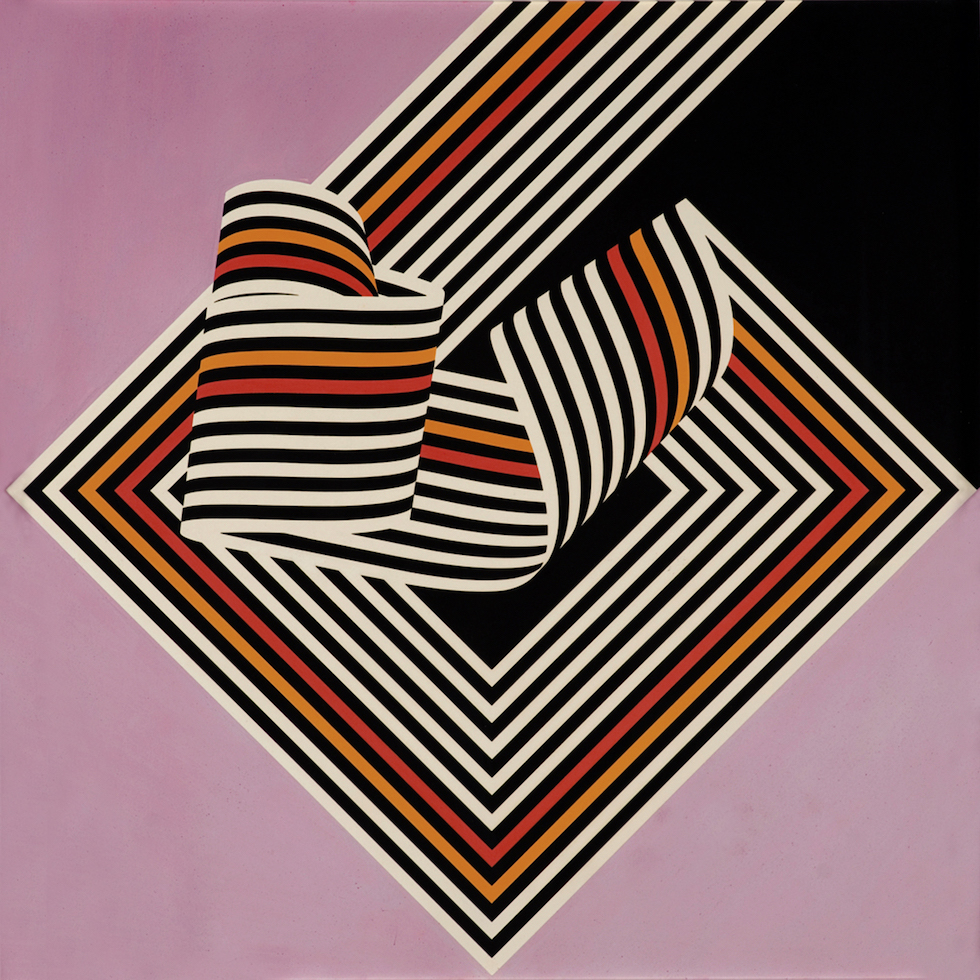 Franco Grignani, Dissociation from the edge, 1967