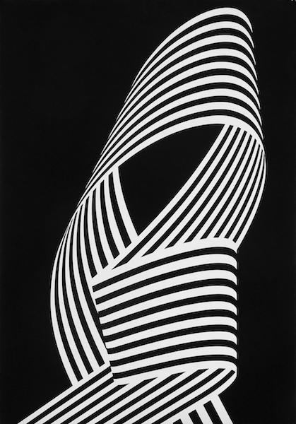 Franco Grignani, Dissociation from the edge, 1969