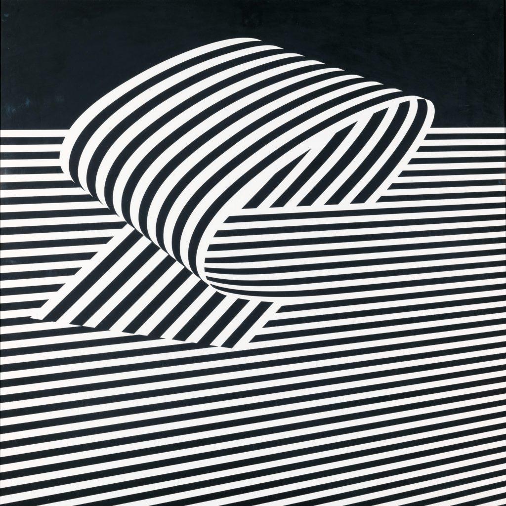 Franco Grignani, Dissociation from the edge, 1970