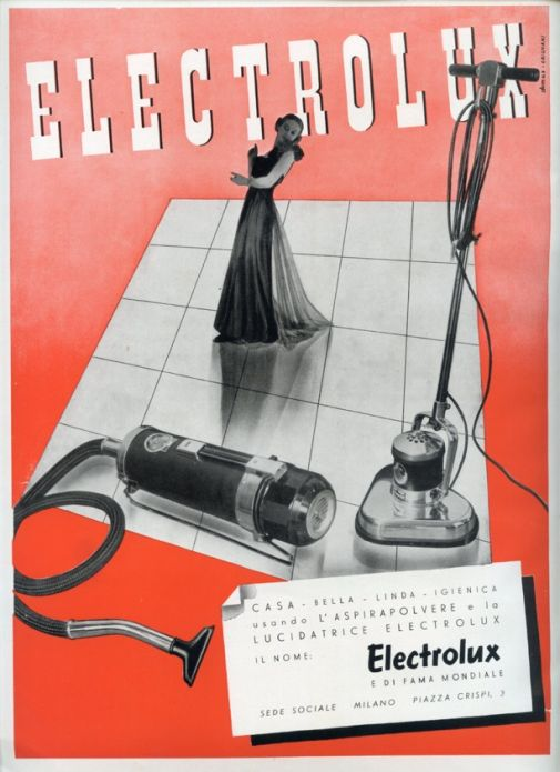 Franco Grignani, Ad for Electrolux, 1939