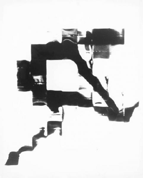 Franco Grignani, Man-staircase, 1950