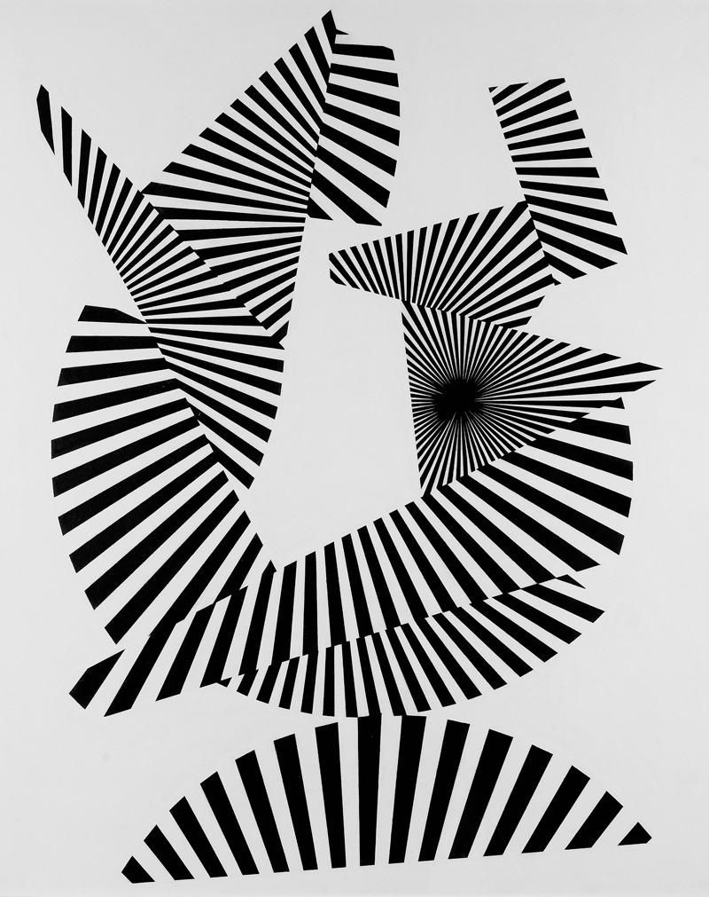 Franco Grignani, Radial fragmentation, 1964