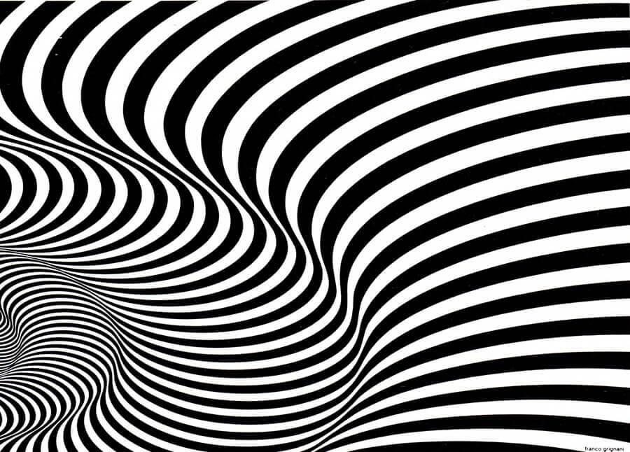 Franco Grignani, Kinetic graphics, 1966