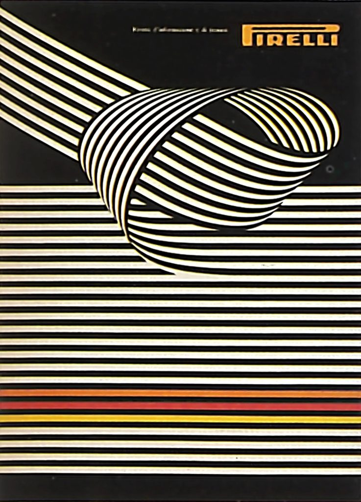 Franco Grignani, Pirelli poster, 1967