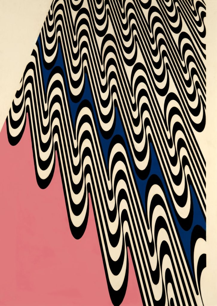 Franco Grignani, Wavy projection, 1965