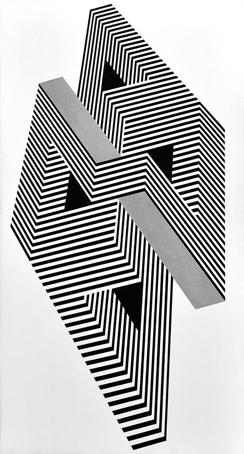 Franco Grignani, Psicoplastica, 1971