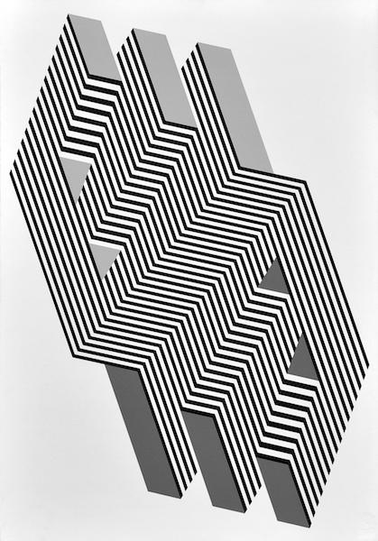 Franco Grignani, Psicoplastica, 1972