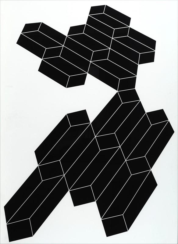 Franco Grignani, Psicoplastica n° 246, 1969