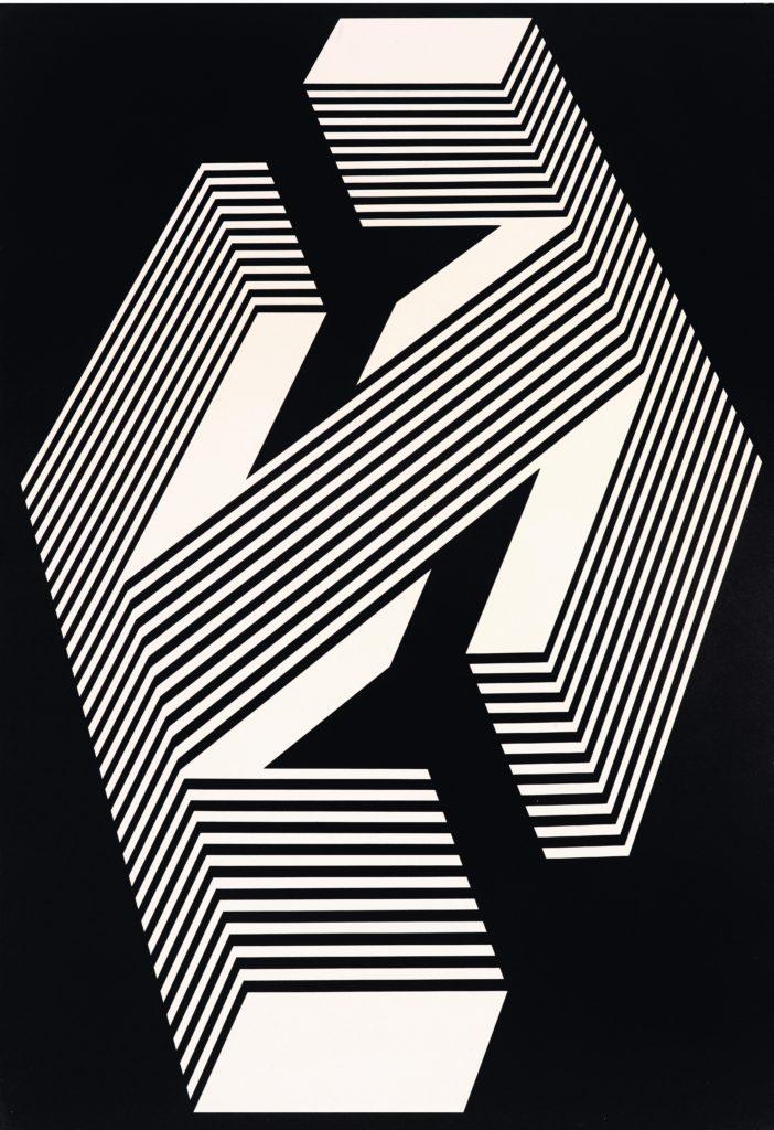 Franco Grignani, Psicoplastica n° 449, 1972