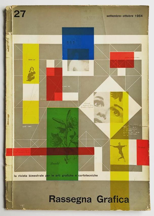 Franco Grignani, Rassegna Grafica, 1954
