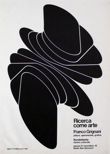 Franco Grignani, Ricerca come arte, Milano, 1980