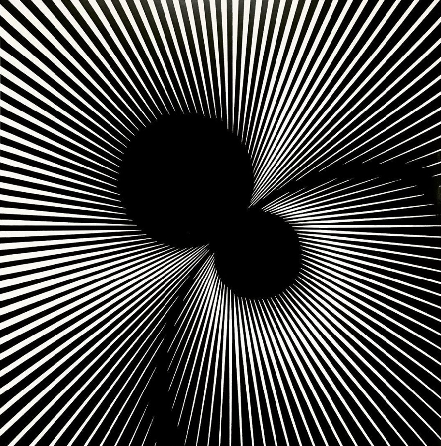 Franco Grignani, Tangent inductions, 1965