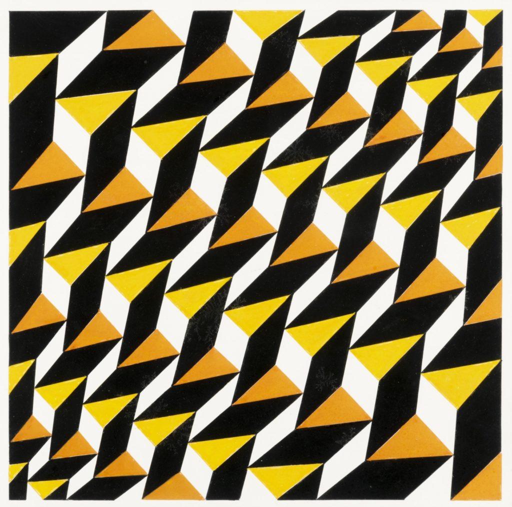 Franco Grignani, Triangolo, rhombus, rhomboid, 1993