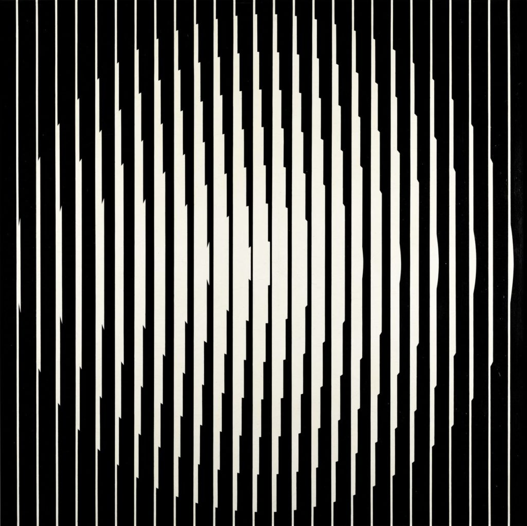 Franco Grignani, Inductive vibration, 1965