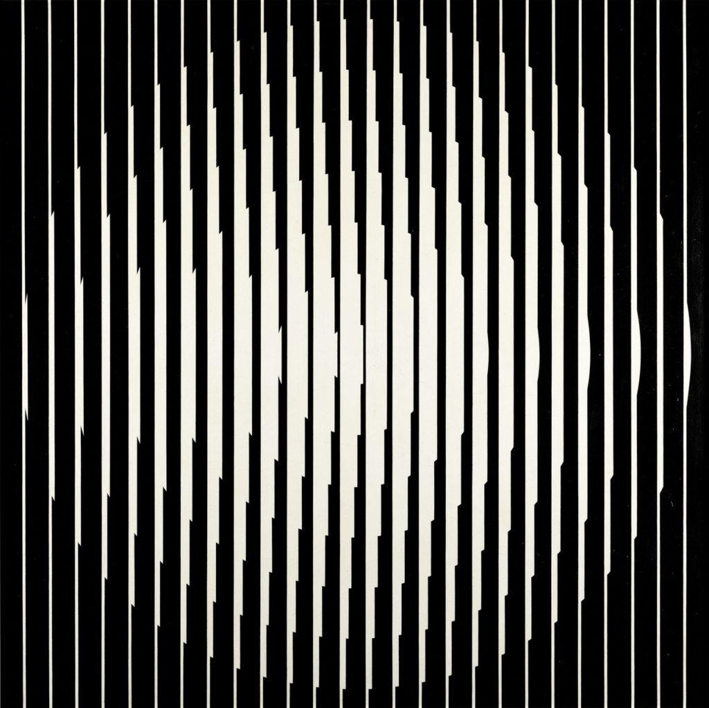 Franco Grignani, Inductive vibration, 1965