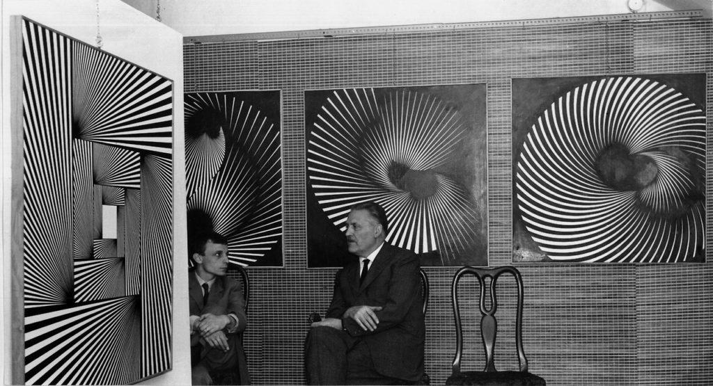 Franco Grignani at Centro Proposte in Firenze - Palazzo Capponi - 1966