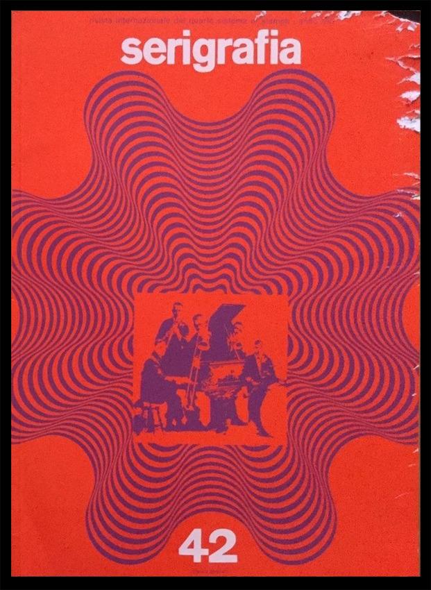 Franco Grignani, cover for Serigrafia n° 42