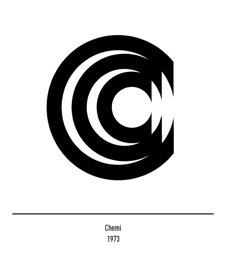 Franco Grignani, Chemi logo, 1973