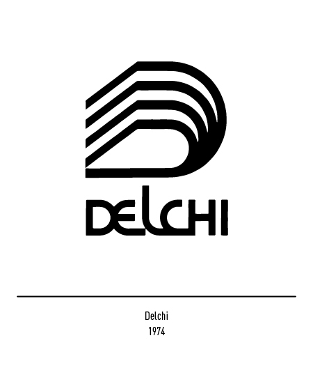 Franco Grignani, Delchi logo, 1974