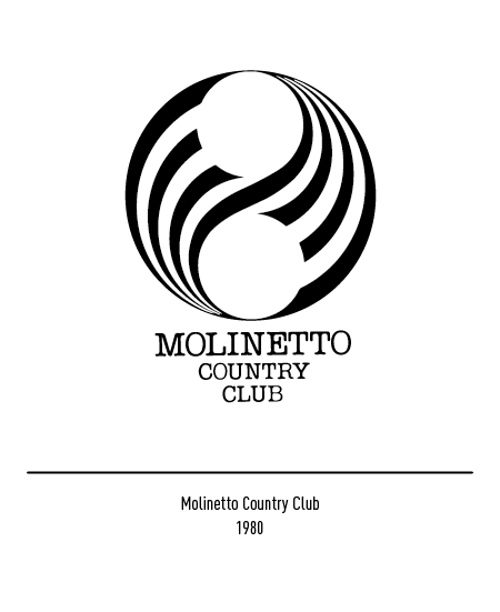 Franco Grignani, Molinetto Country Club logo, 1980