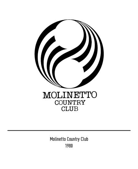 Franco Grignani, Molinetto Country Club logo, 1980