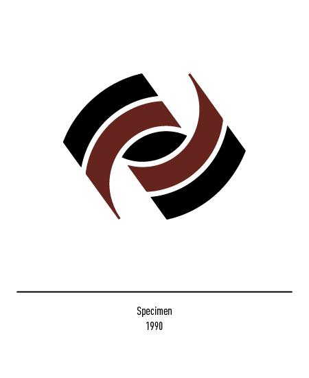 Franco Grignani, Specimen logo, 1990