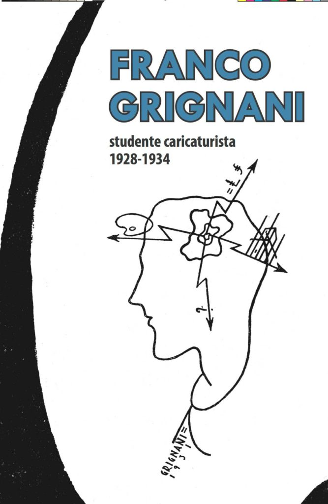 Franco Grignani, studente caricaturista, 1928 – 1934