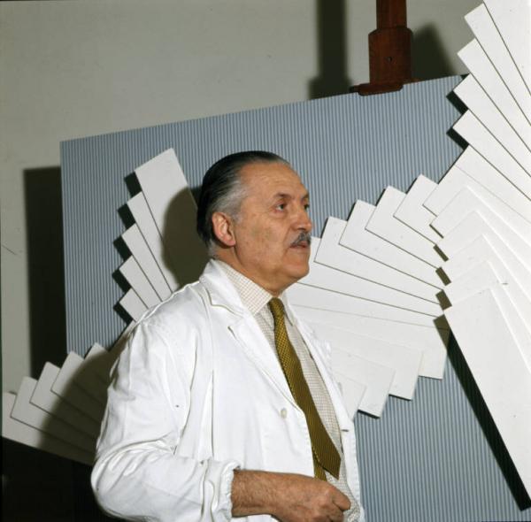 Franco Grignani, 70s