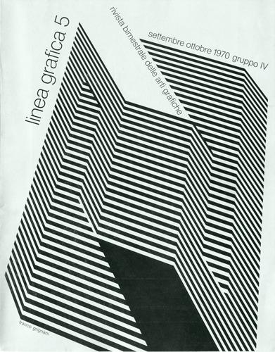 Franco Grignani, Linea Grafica, 1970