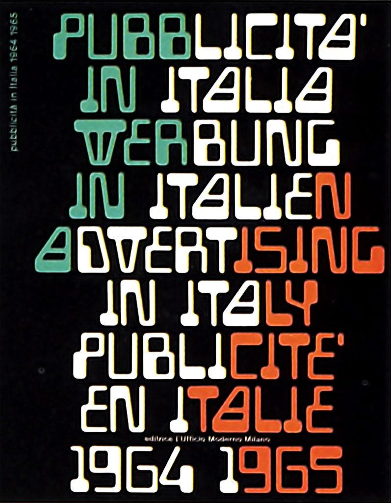 Franco Grignani, Pubblicità in Italia, 1965