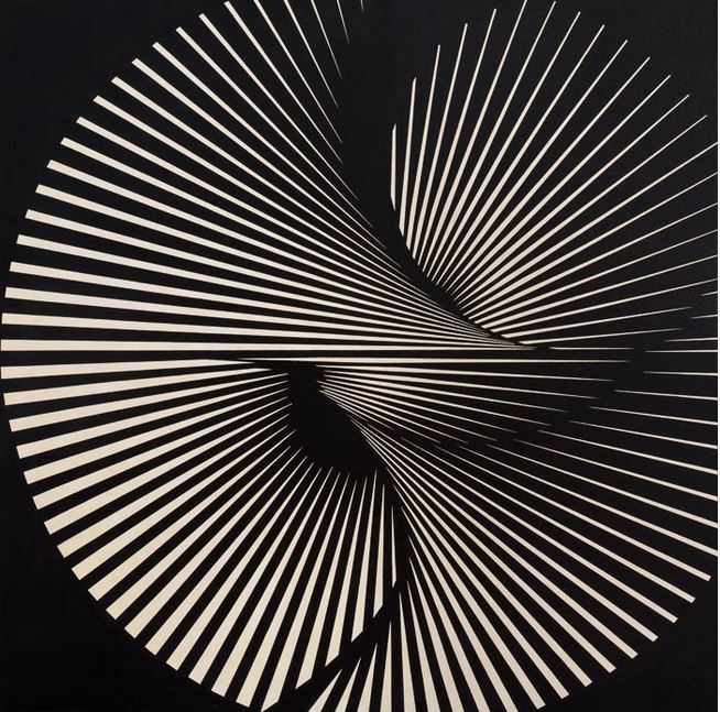 Franco Grignani, Radial torsion, 1965