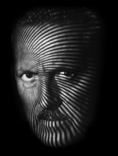 Franco Grignani, self-portrait, 1983