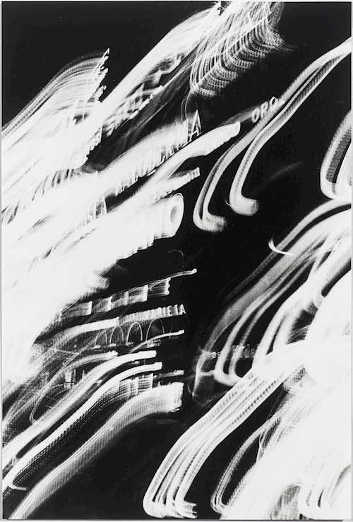 Franco Grignani, Blurring of light, circa 1960
