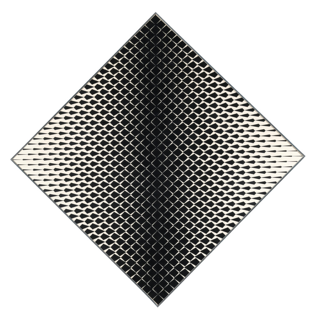 Franco Grignani, Variable field, 1963