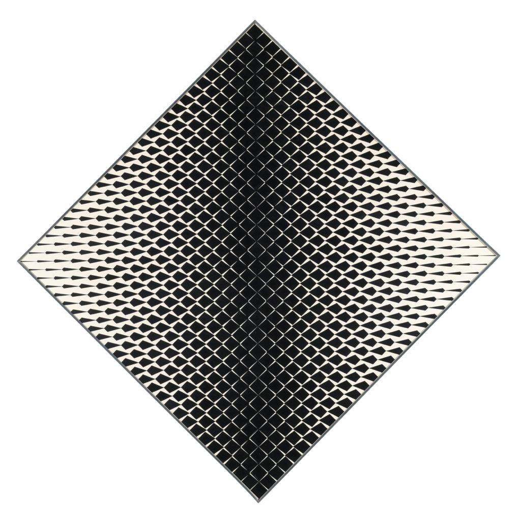 Franco Grignani, Variable field, 1963